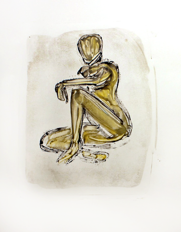 Sunset Over the Serengeti with Umbrella Acacias