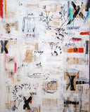 La Joie (Joy) / 60 x 48 / mixed media on canvas