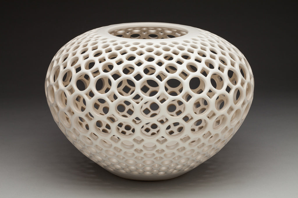 Lace Orb Vessel
