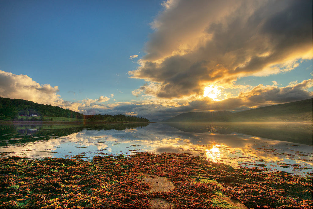 Sunset in Scotland