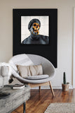 Framed Skull Wall Art