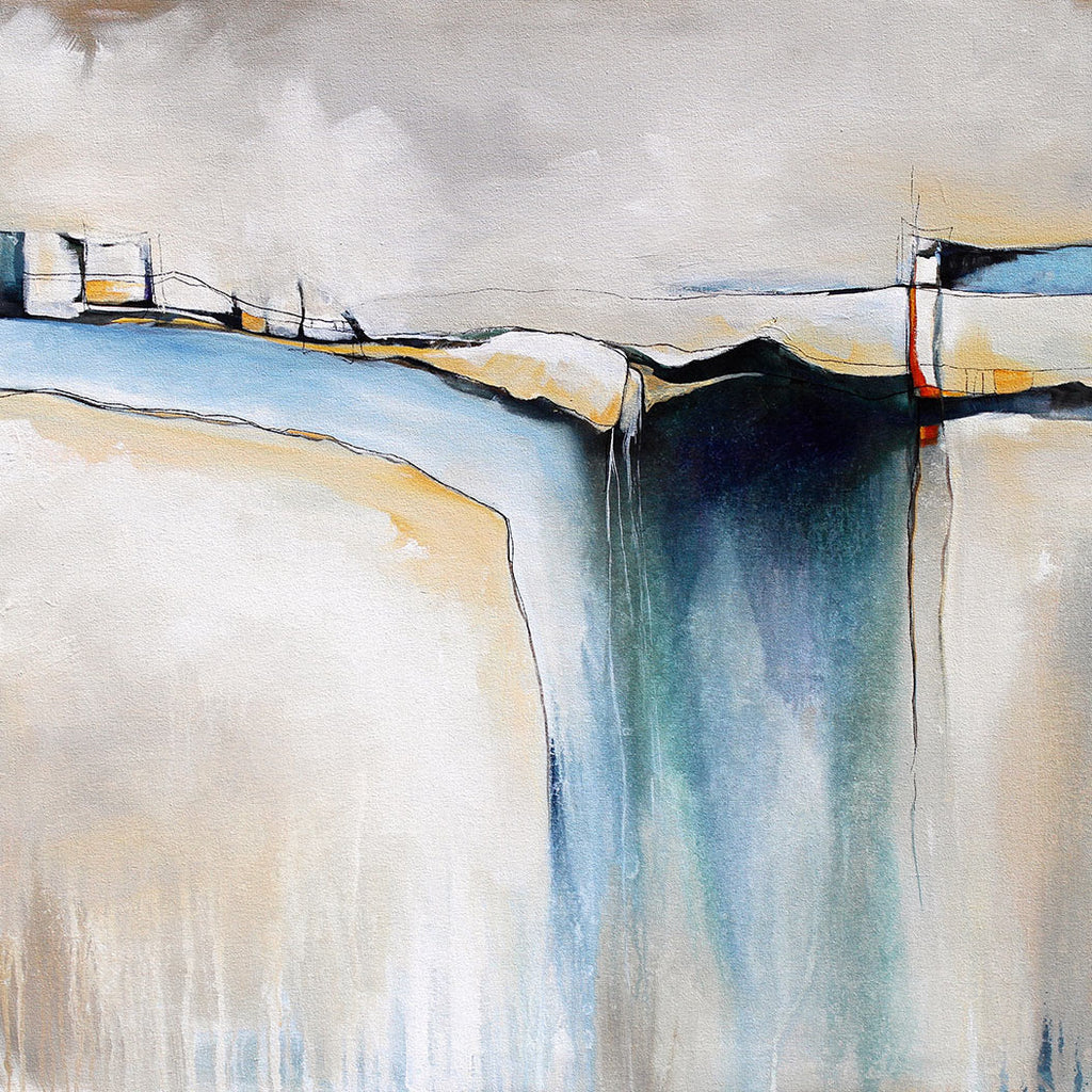 Skywalk / 47 x 47 / acrylic on canvas