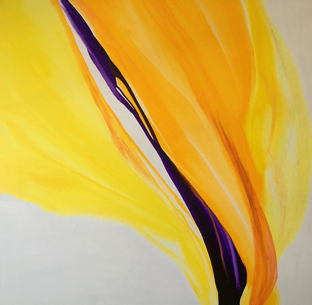 Patricia Coulter  / Sublime / 48 x 48 / acrylic on Canvas