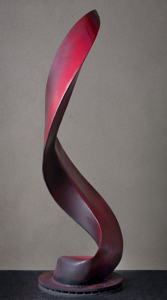 Charmed / 15 x 42 x 15 / painted steel