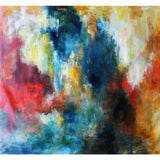 Color Splotch. Colorful abstract painting by Kevin Poole.