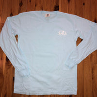 Baby Blue Long Sleeve Comfort Color Shirt