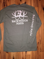 Military Green/Tan Original Logo Longsleeve