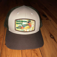 Wood Duck Tri-Color Snapback