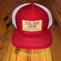 Trump 2020 Red/White Snapback