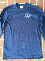 Navy Blue Long Sleeve Comfort Color Shirt