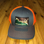 Charcoal Gray/Neon Orange Dog Em