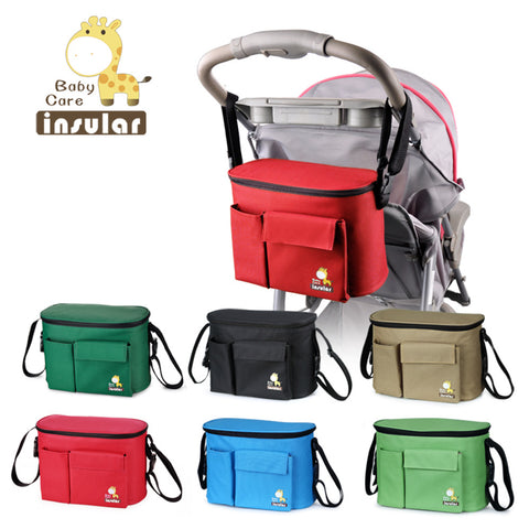 New Arrival Free Shipping Thermal Insulation Bags For Baby Strollers Waterproof Baby Diaper Bags - CheckaBaby