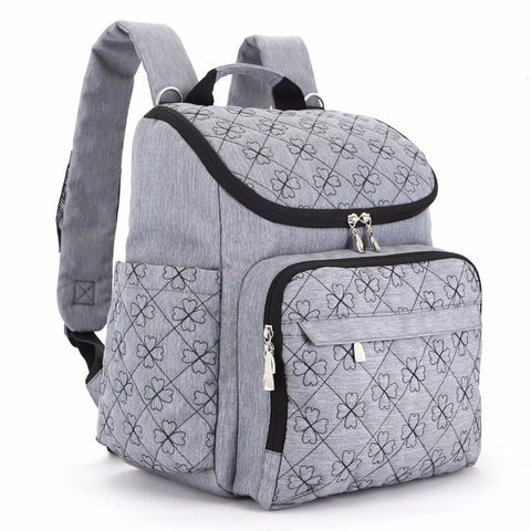 COLORLAND Diaper Bag Fashion Mummy Maternity Nappy Bag Brand Baby Travel Backpack Diaper Organizer Nursing Bag For Baby Stroller - CheckaBaby