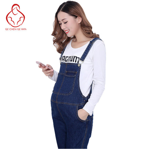 High Quality Obstetrics One-Piece Soft  Maternity Jeans - CheckaBaby
