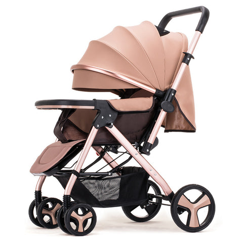 Portable Baby Stroller Sitting Lying Down High-quality Collapsible Travel Stroller Carriage Baby Wheelchair Best Gifts For Baby - CheckaBaby