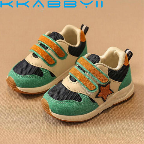 New Sport Children Shoes Kids Boys Sneakers Spring Autumn Net Mesh Breathable Casual Girls Shoes Running Shoe For Kids