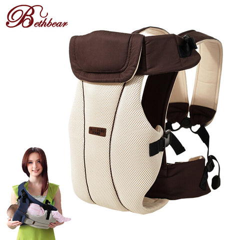 2-30 Months Breathable Multifunctional Front Facing Baby Carrier Infant Baby Sling Backpack Pouch Wrap Baby Kangaroo - CheckaBaby