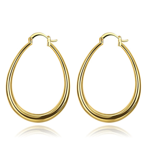 3 Pairs Hoop Earring Set in Gold Filled - CheckaBaby