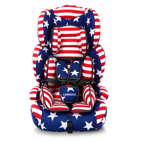 High Quality Baby Car Seat, Child Safety Auto Chair,  Kids Protection Seat, for 9M-12Y - CheckaBaby