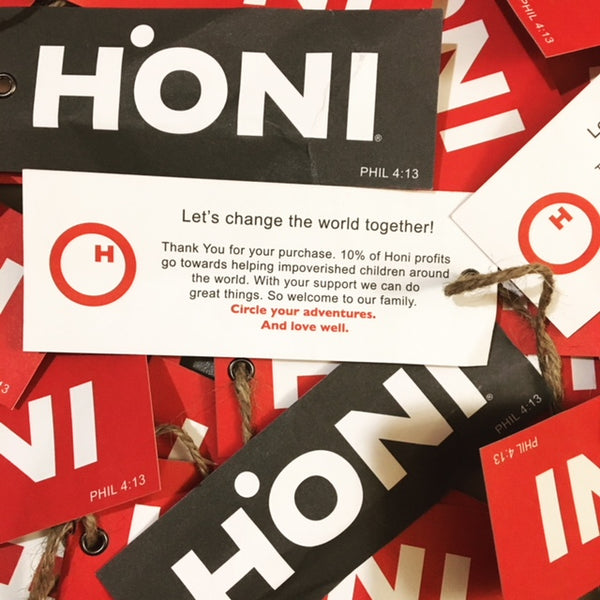 HONI Apparel Tags