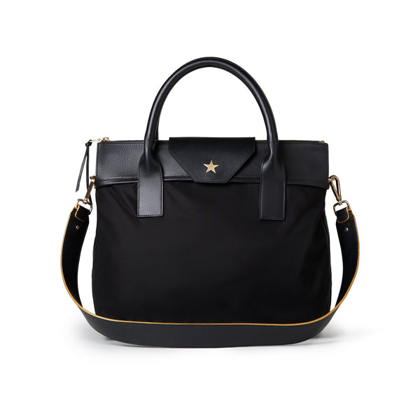 Large Tote Black / Black