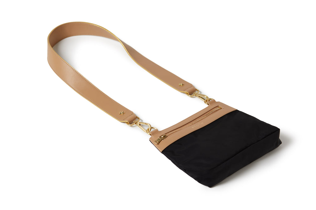 Crossbody Black /Tan