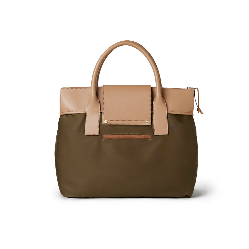 Rachel Medium Tote Kaki / Tan