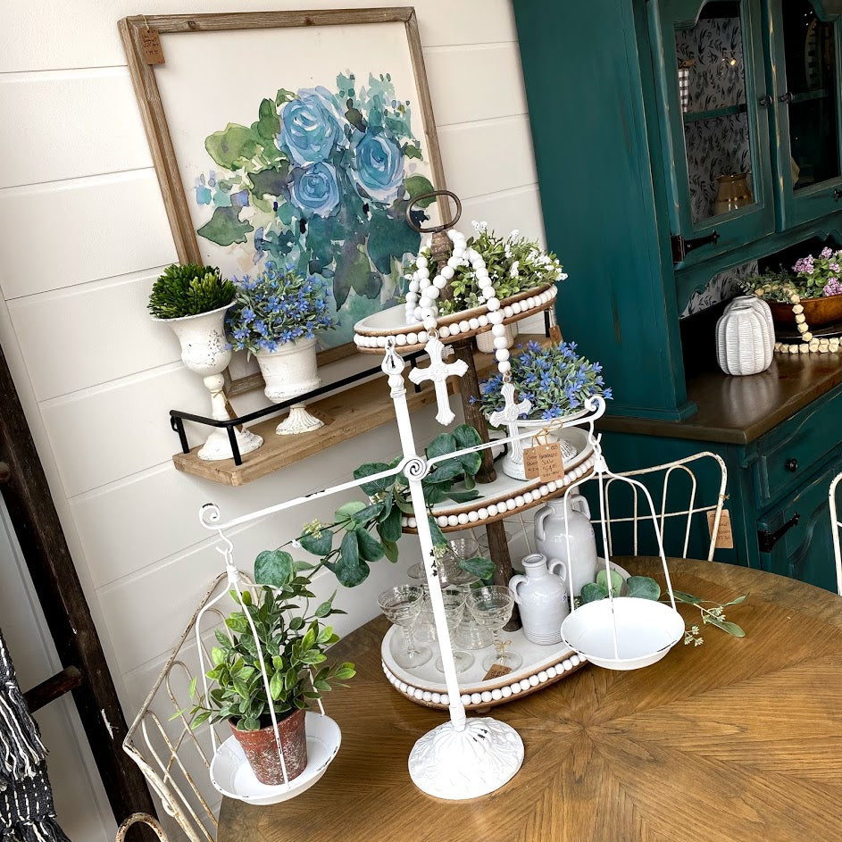 Tiered Tray Décor