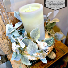 AquaFlame Candle Fountain | Sage Green