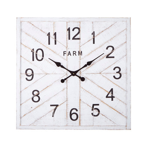 Farmhouse Wall Clock | 30.5""