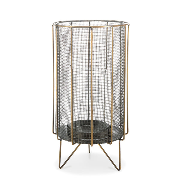 Metal Mesh Candle Holders