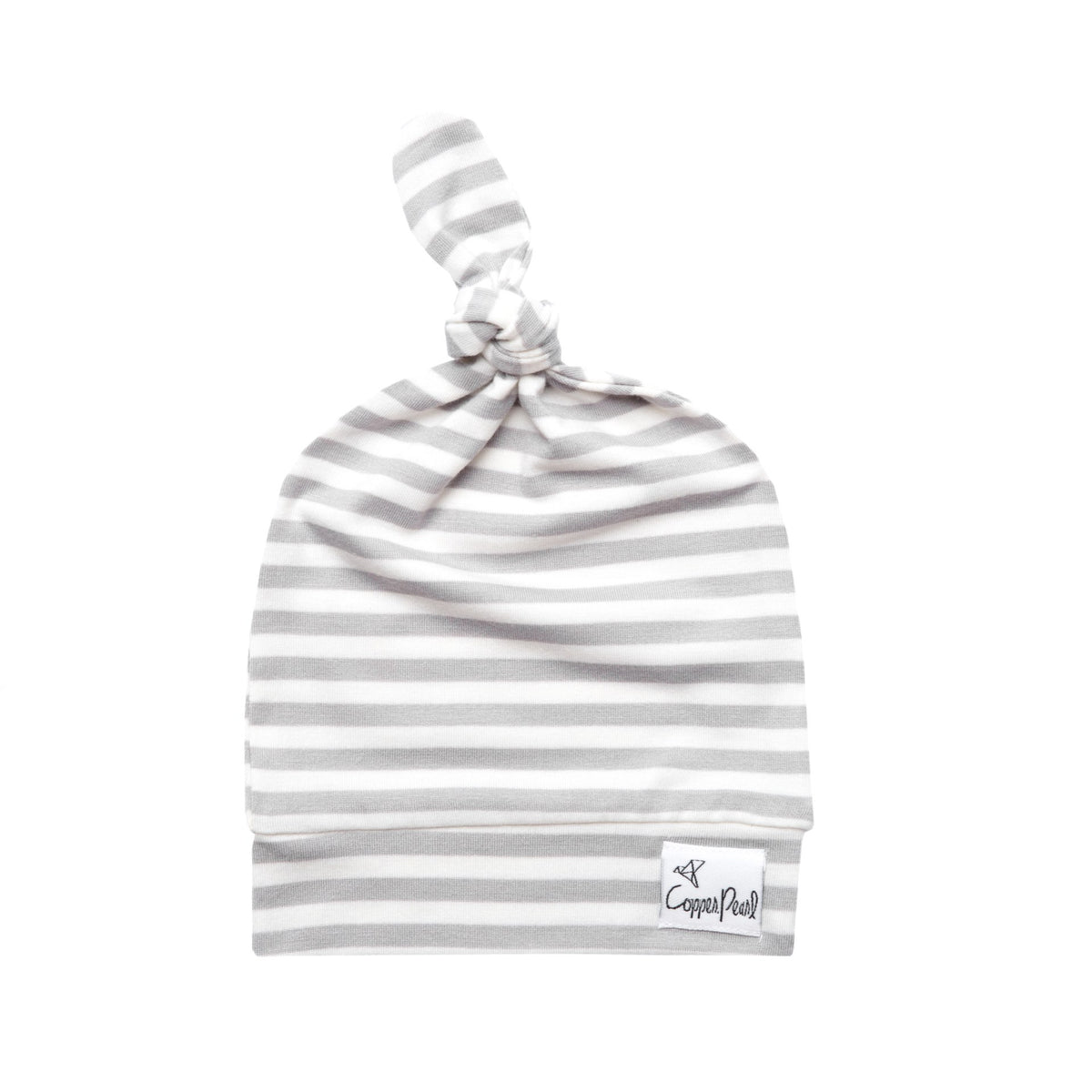 Everest Striped Top Knot Hat