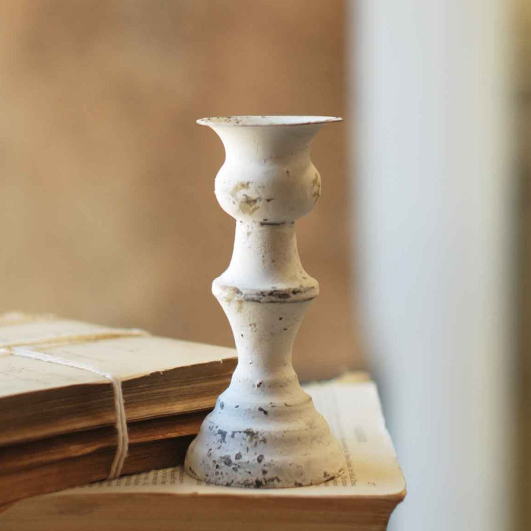 Alette Candle Holder | Cream | 5.5