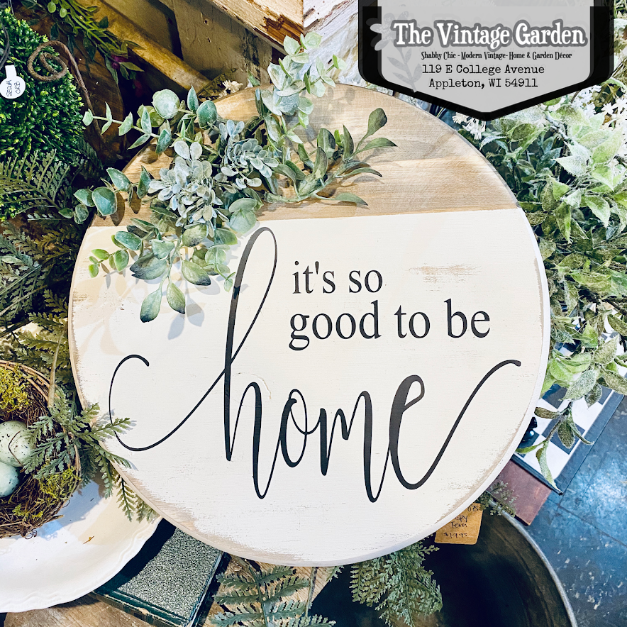 It's So Good to be Home Sign | Handmade