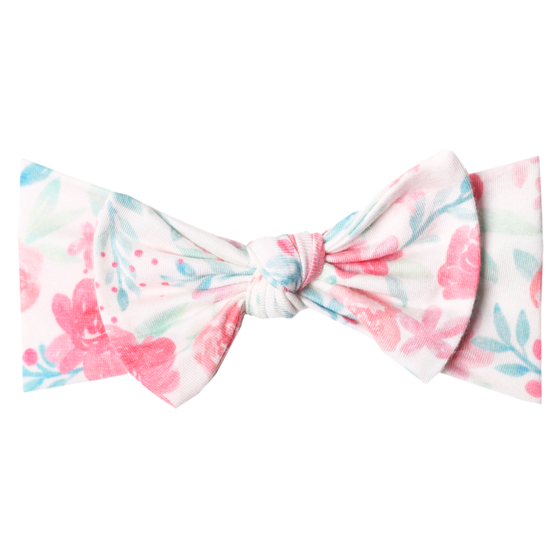 June Floral Bow Headband