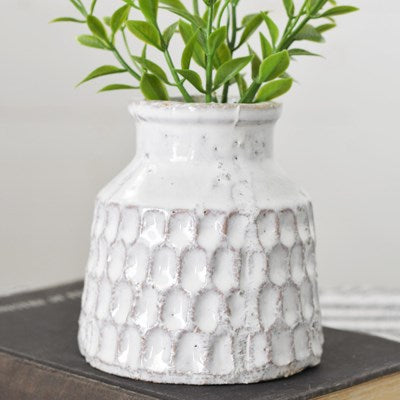 Carved Pattern Vase | 4""