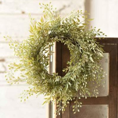 Mixed Sage Greens Wreath | 14