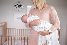 Willow Dots Swaddle Blanket