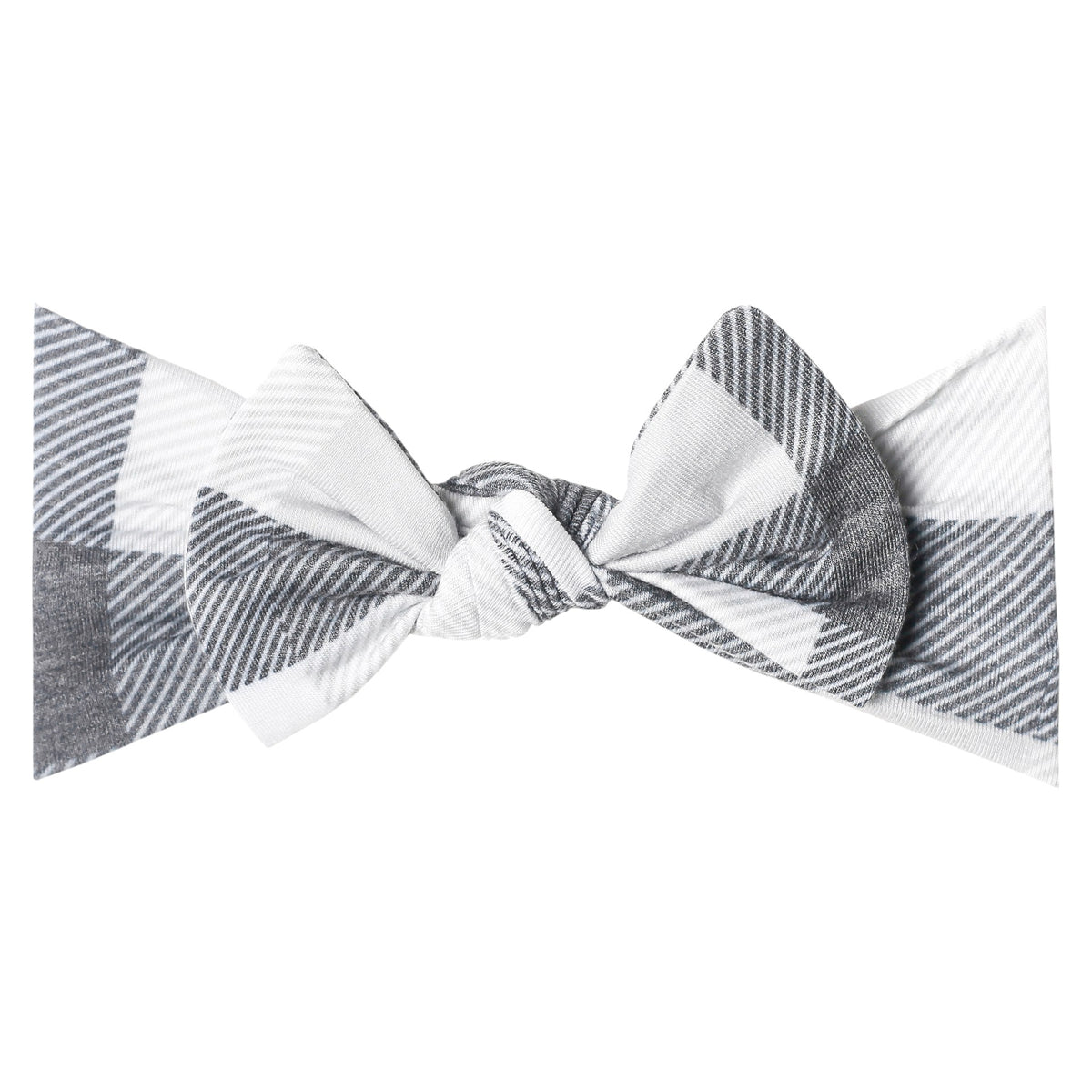 Hudson Buffalo Check Bow Headband