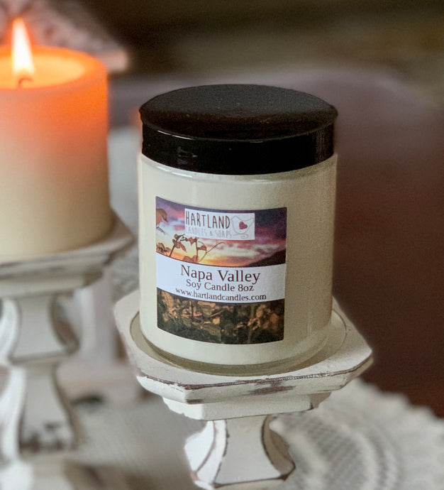 Soy Candle ~ Napa Valley 8oz