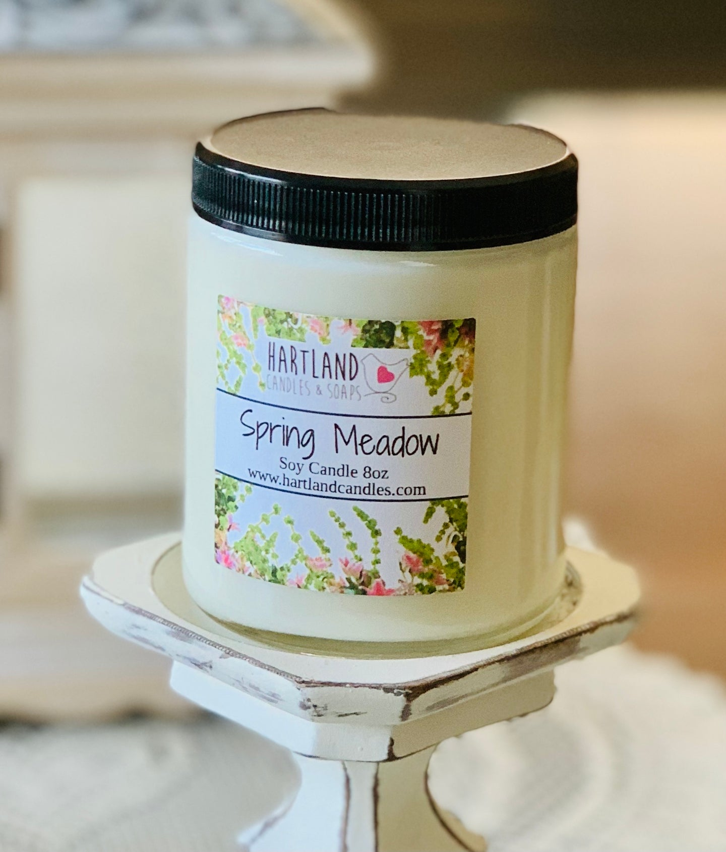 Soy Candle ~ Spring Meadow 8oz NEW