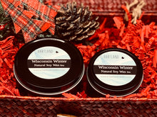 Holiday Black Travel Tin Candles 6oz