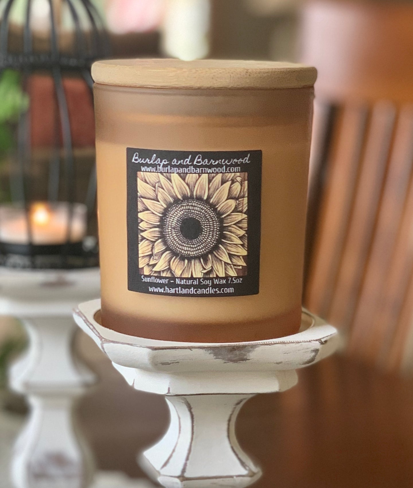 Soy Candle ~ Sunflower Elegant Candle Collection NEW