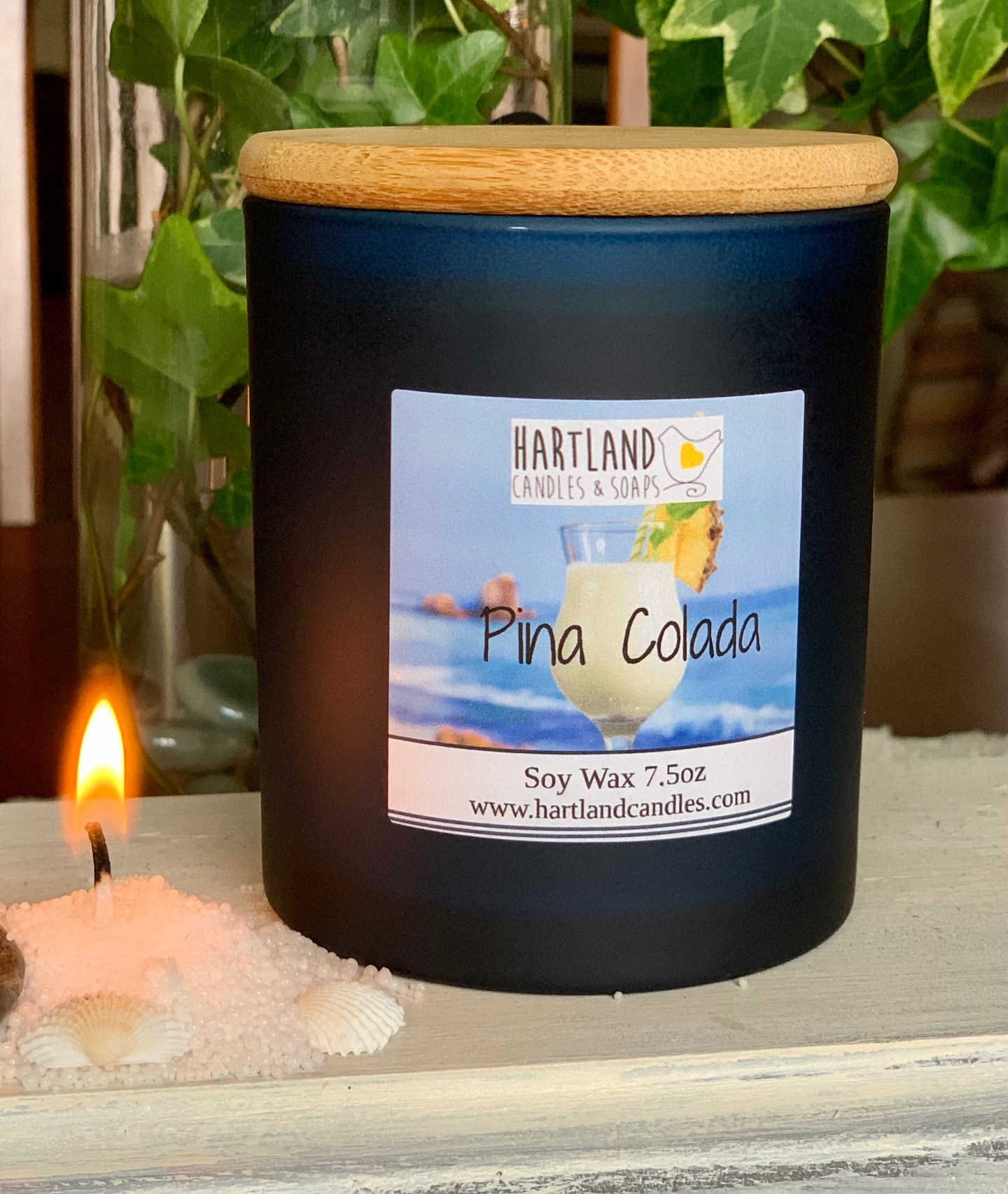 Soy Candle ~ Pina Colada  Elegant Candle Collection NEW