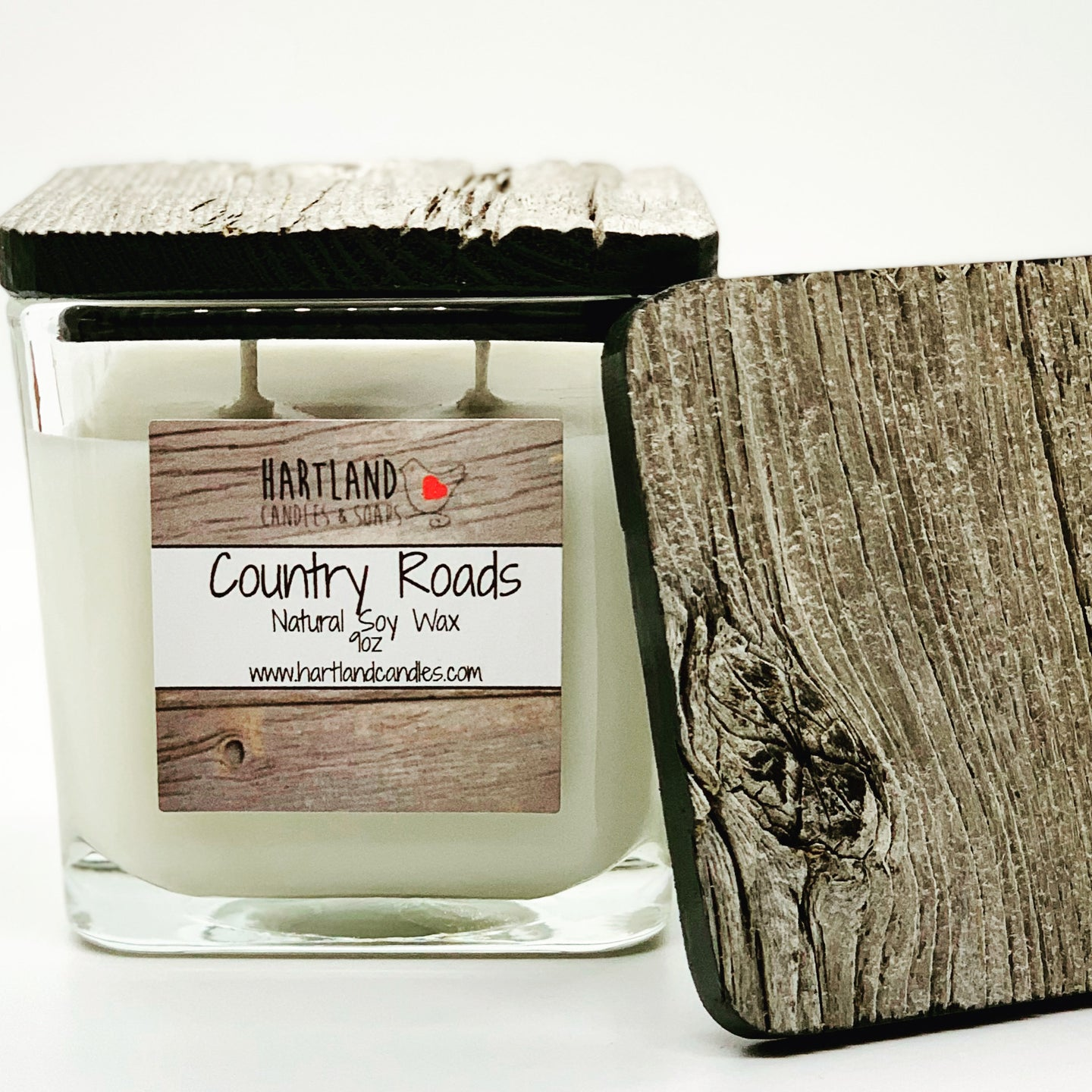 "Barn Wood ""Country Roads""  Soy Candles 9oz"