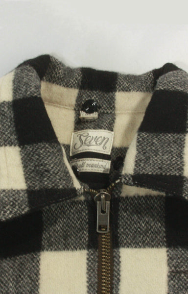 7 For All Mankind Plaid Jacket
