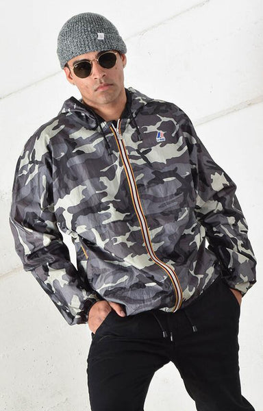 K-Way Camo Windbreaker