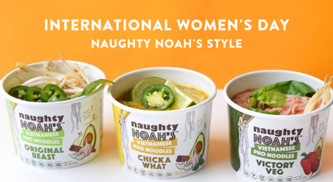 International Women's Day at Naughty Noah's