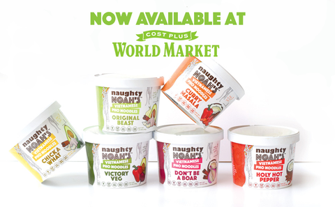 Naughty Noah's Instant Pho now available at World Market