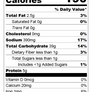 Chicka What - Nutritional Facts